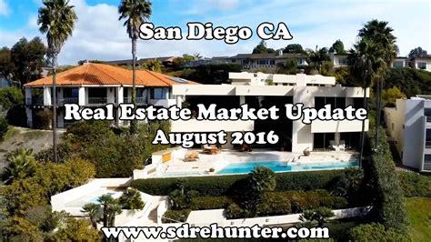 san diego housing market san diego ca real estate market update august 2016