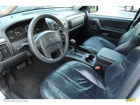 Dark Slate Gray Interior 2004 Jeep Grand Cherokee Laredo