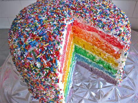 rainbow sprinkle cake the sweet life
