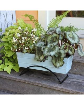 bargains  dyann galvanized steel planter box winston