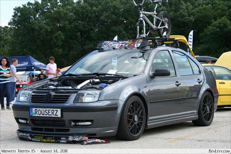 Mk4 Roof Rack by Grey Mkiv Jetta With Roofrack Benlevy
