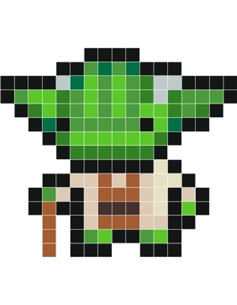 wars pixel templates pixel starwars template search tejido