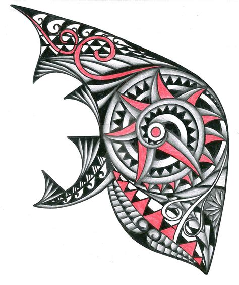 image gallery hawaiian tribal tattoo designs