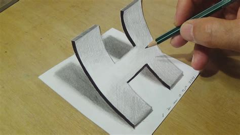 H Drawing by Easy Drawing With Graphite Pencils How To Draw Letter H