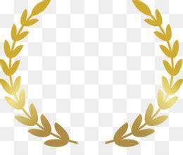 komoditi  gratis laurel karangan bunga emas clip