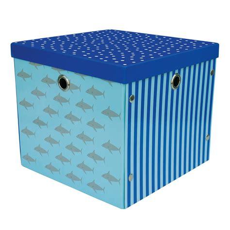 aufbewahrungsbox kinderzimmer blau aufbewahrungsbox boot sterne blau jabadabado kaufen