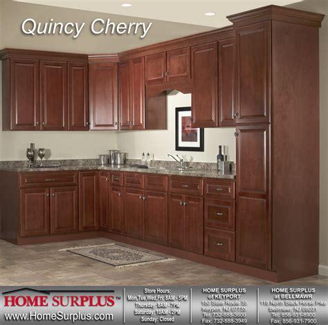 Premier Kitchen Cabinets Quincy Cherry Cabinets Home Surplus