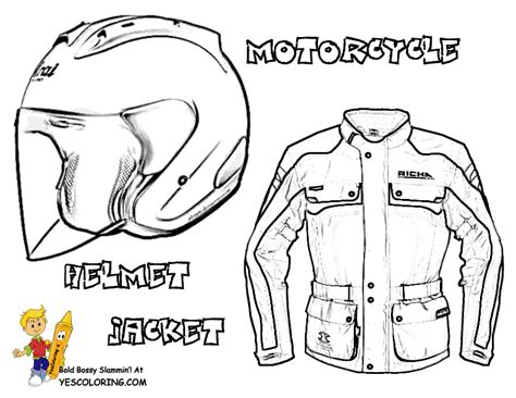 motorcycle helmet coloring pages bike helmet coloring pages