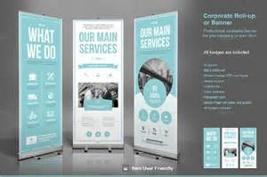 banner template ai rollup banner 21 free psd ai vector eps illustrator