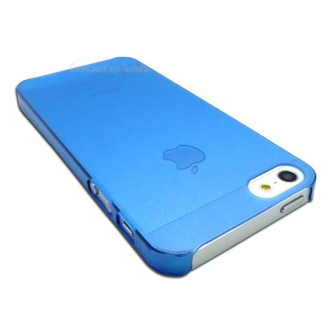 Casing Cover Ultra Thin Stealth Iphone 5 5s 5c Silicon Soft Jell blue thin matte frosted for apple iphone 5 5s se plastic cover