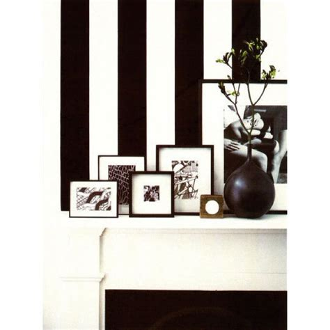 black and white striped home decor black white striped wallpaper saved by chic n cheap