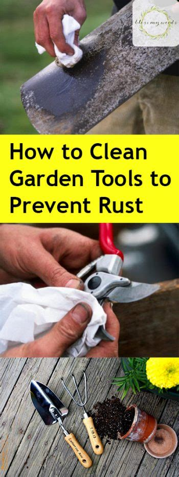 saw top rust prevention how to clean garden tools to prevent rust and dull blades