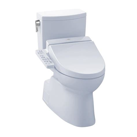 2 In 1 Toilet And Bidet by Toto Vespin Ii Connect 2 1 0 Gpf Elongated Toilet