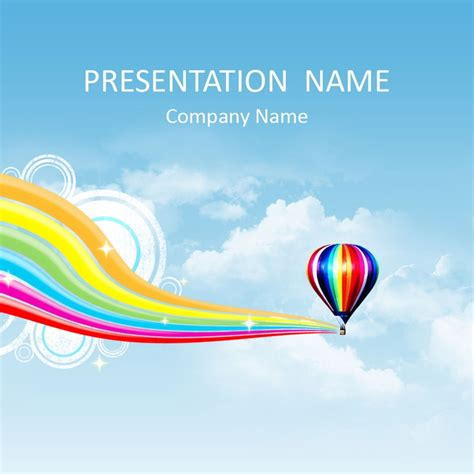27 Best Images About Abstract Powerpoint Templates On Air Powerpoint Template