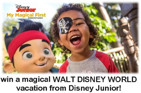 Disney Junior Magical First Sweepstakes - disney junior my magical first sweepstakes sweepstakesbible