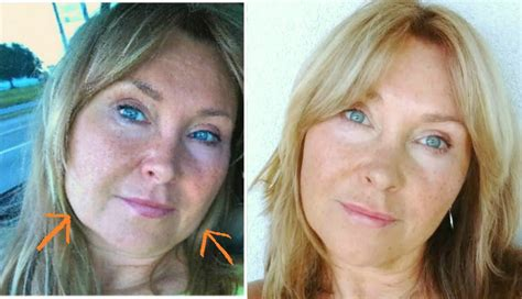 hairstyles for an aging face with jowls sagging face diy facelift without surgery