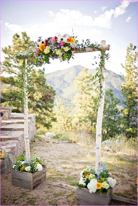 Wedding Cakes Arbor by Decorated Wedding Arbors