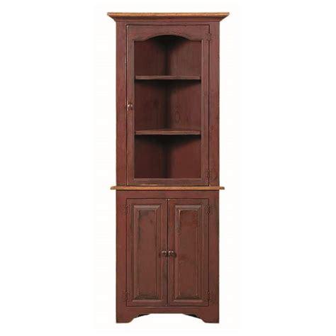Small Corner Cupboards pine small corner cupboard amish pine small corner cupboard country furniture
