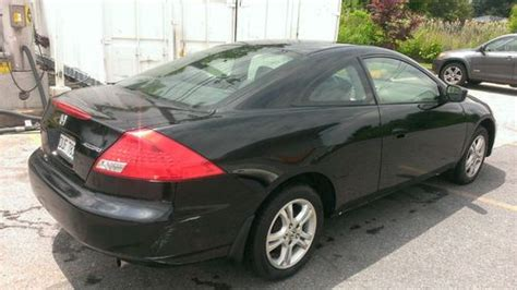 Honda Accord 2 Door Black by Find Used 2006 Black Honda Accord Lx Coupe 2 Door 2 4l No