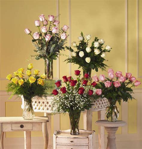 Glass Floral Vases Roses Amp Rose Arrangements From Waytogro 4 Of 8
