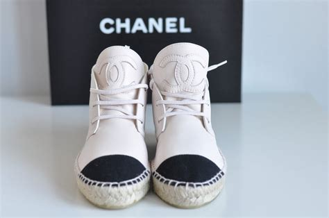 chanel sneakers chanel espadrilles shop for chanel espadrilles on wheretoget