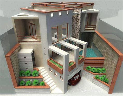 imagenes de maquetas minimalistas maquetas de una casa de un terreno de 300 m2