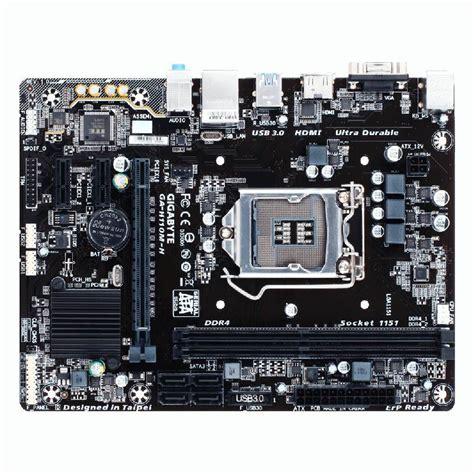 Mainboard Gigabyte Ga H110m H Micro Atx Lga 1151 1 gigabyte h110m h ddr 4 lga1151 micro atx intel motherboard ga h110m h mwave au