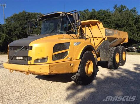 volvo af articulated dump truck adt year  manufacture  mascus uk