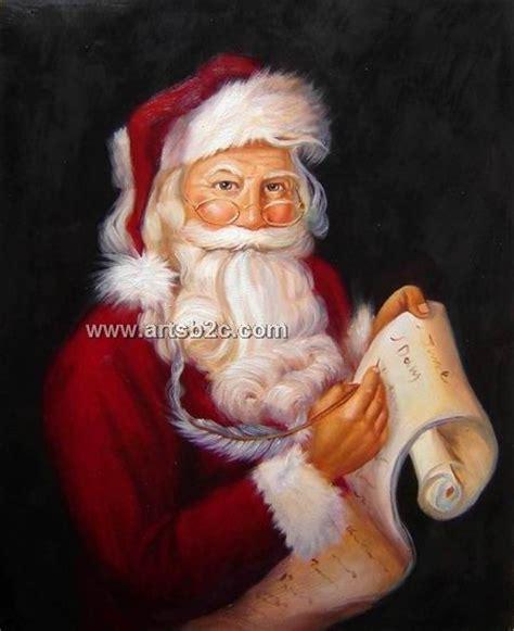 painting santa claus santa claus painting and santa