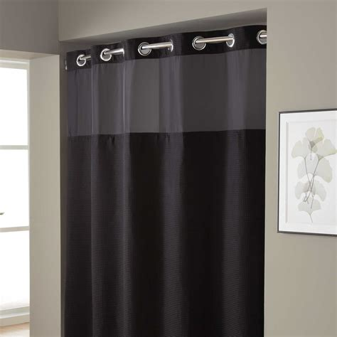 long hookless shower curtain popular hookless shower curtain home design ideas