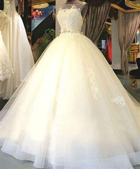 Exklusive Brautkleider by Exklusive Brautkleider Wei 223 Mit Spitze Prinzessin Organza