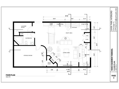 basement layout plans arcbazar viewdesignerproject projectbasement