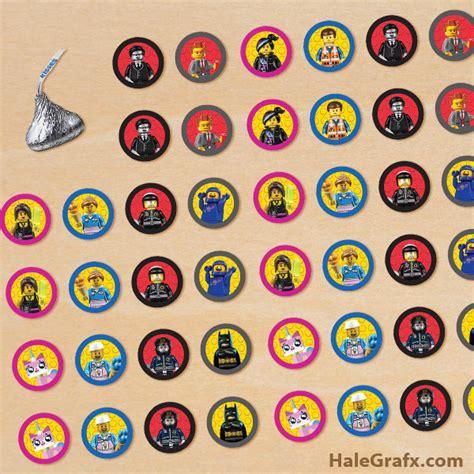 Printable Lego Stickers | free printable lego movie hershey s kisses stickers