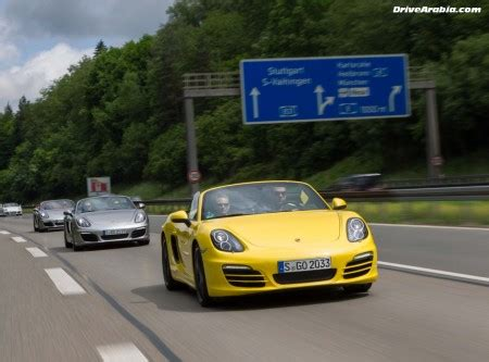 is porsche german drive 2012 porsche boxster s in germany drive arabia