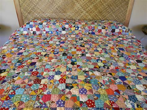 Cool Quilts For Sale 1930s Antique Pieced Stitched Scrap Quilt In