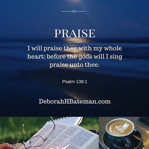 psalms of praise a movement primer baby believer books daily bible reading quot i will praise thee quot psalm 138 1 8