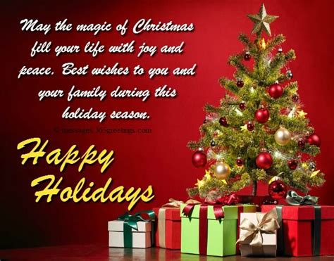 happy holiday wishes   messages merry christmas message christmas messages