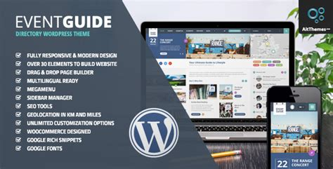 Museum V1 3 Responsive Theme event guide v1 3 3 ultimate directory listing theme for