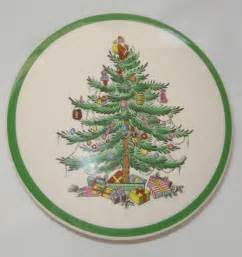 lovely spode classic christmas tree china trinket box 5