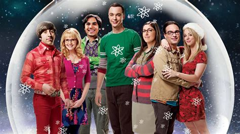 christmas feeling the big bang theory wallpaper