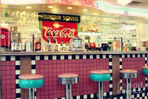 retro diner photograph by sylvia cook - Retro Dinner