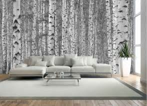 birch tree forest black and white buy prepasted black and white wall murals and photo wallpapers