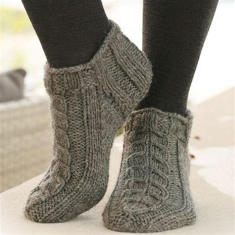 Alaska Knitted Ankle Socks Free Pattern Knitting Socks