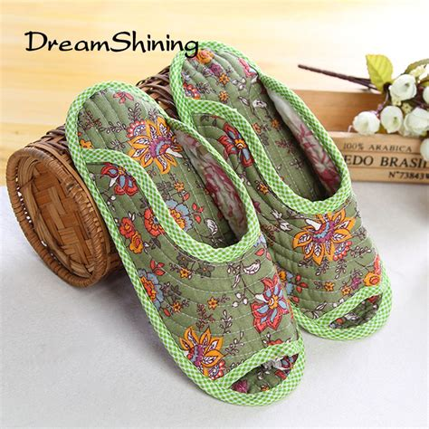 indoor slippers for guests dreamshining floral winter home slippers for