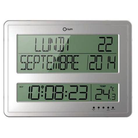 horloge calendrier digitale horloge digitale calendrier rc orium manutan fr