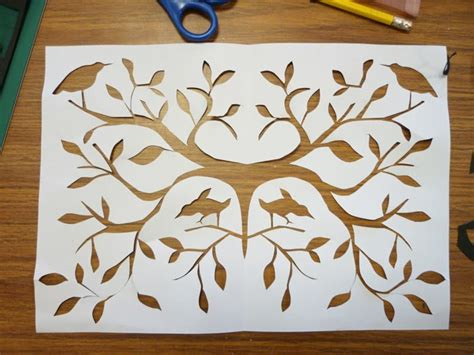 Paper Cutting Craft Work - s beginners papercut workshop