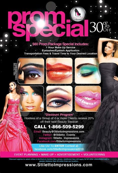 makeup artist flyers templates make up artist promotional flyer design