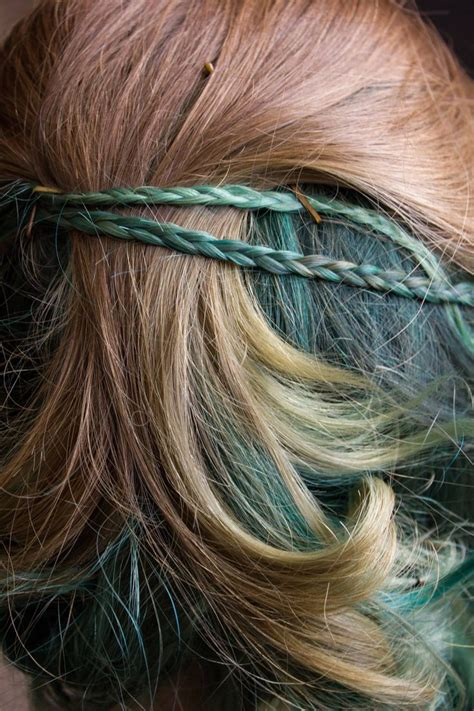dye bottom layer hair pin by temple west on fantastique hair pinterest