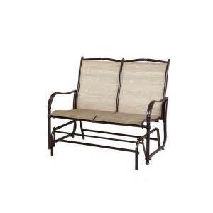 home depot paint glider hton bay altamira tropical patio bench glider d9976 gt