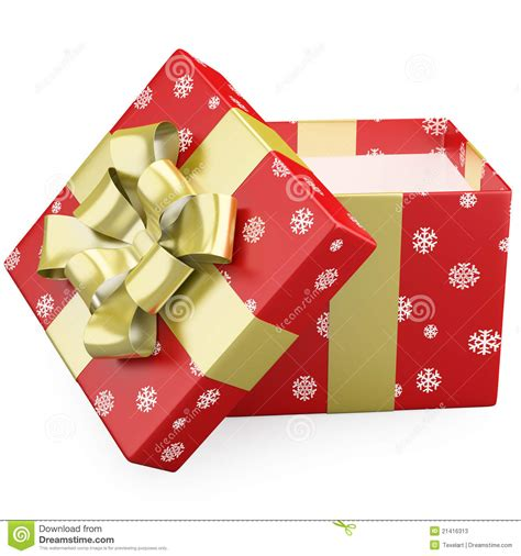 open christmas gifts stock photos image 21416313